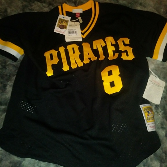 cheap for discount 95e84 e45b0 New Mitchell Ness Willie Stargell Pirates Jersey Boutique